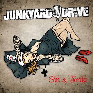 """Το βίντεο των Junkyard Drive για το τραγούδι """"Drama Queen"""" από τον δίσκο """"Sin & Tonic"""""""