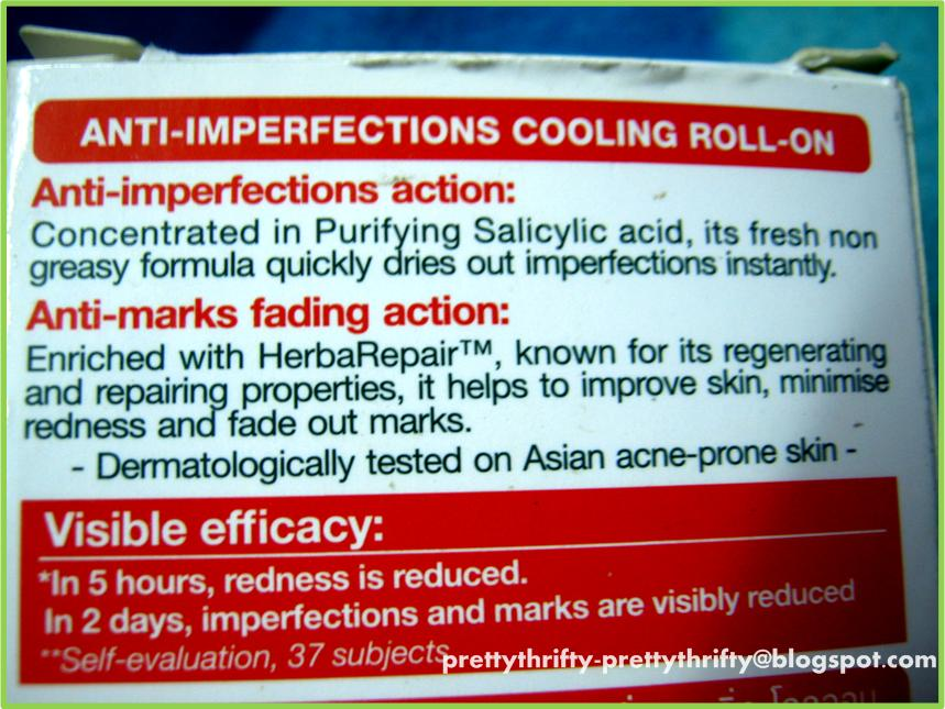 Prettythrifty Garnier Pure Active Anti Imperfections