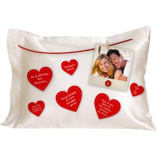 romantik yastıklar