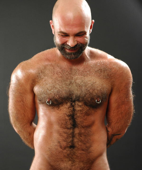 hairy naked bear men