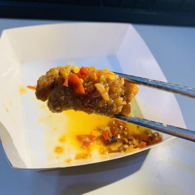 耕禾絕代雙椒-沾鹹酥雞塊