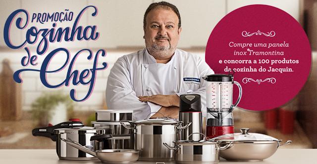 """Promoção """"Cozinha de Chef Tramontina"""""""