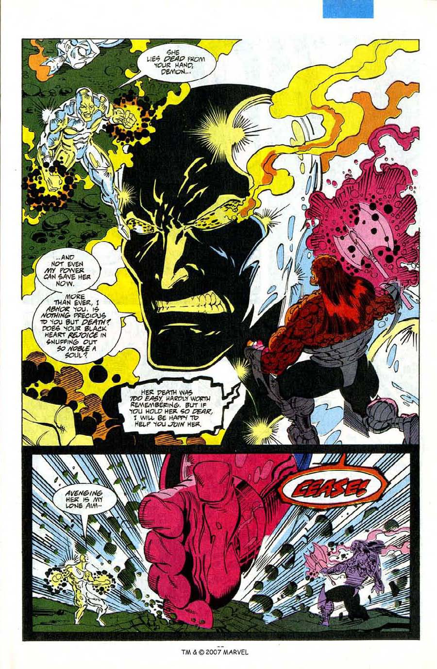 Read online Silver Surfer (1987) comic -  Issue #75 - 37