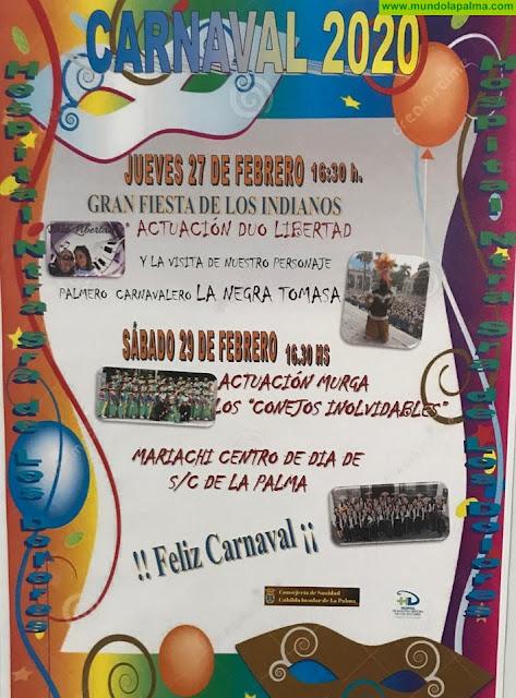 El Cabildo Insular celebra el Carnaval en el Hospital de Dolores