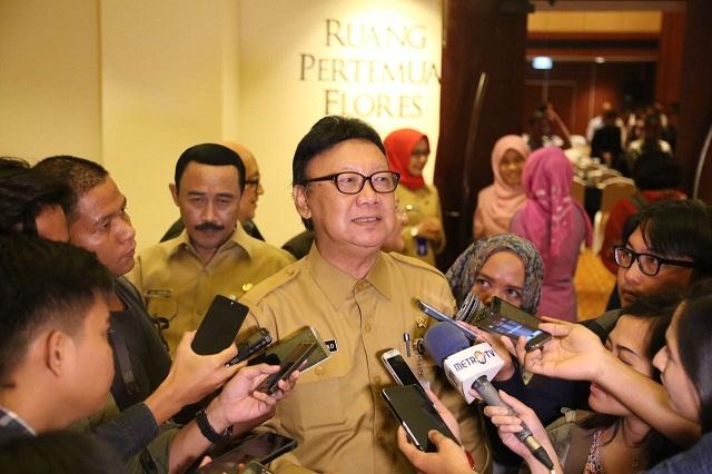 Tjahjo Kumolo Siap Tinggalkan Kursi Menteri Jika Terbukti Berpolitik