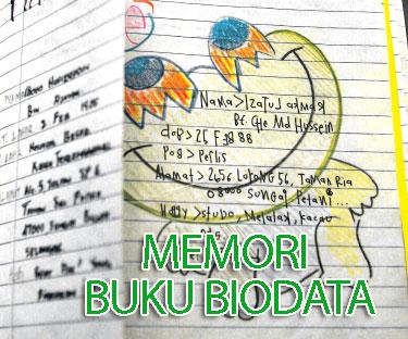 Memori Buku Biodata Cara Manual Menjalinkan Hubungan Mobile