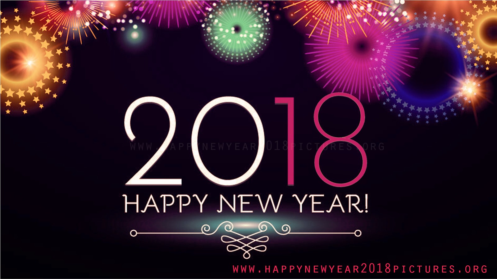 Happy New Year 2018 HD Wallpapers wishes pictures images