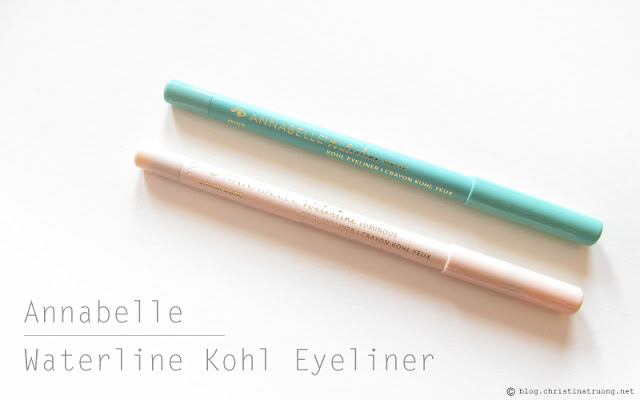 Check out Annabelle Cosmetics Fall 2017 Collection Haul Waterline Kohl Eyeliner Mint Champagne