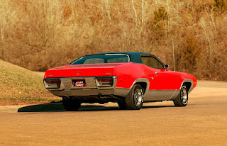 1972 Plymouth Satellite Sebring 318 Right Rear Picture