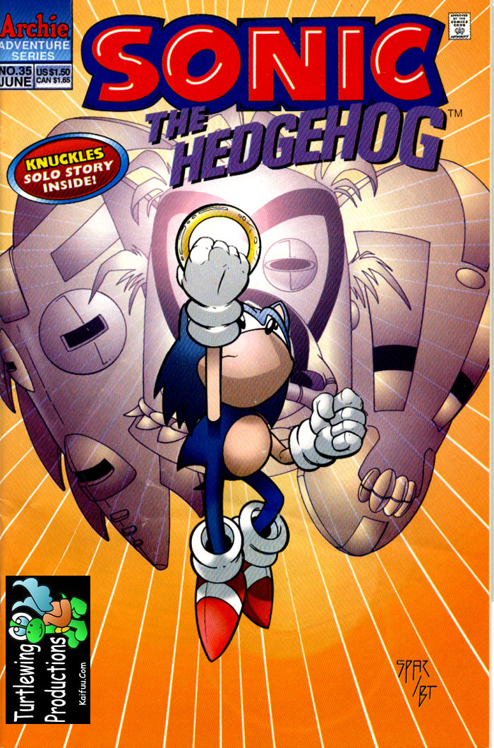 Read online Sonic The Hedgehog comic -  Issue #35 - 1