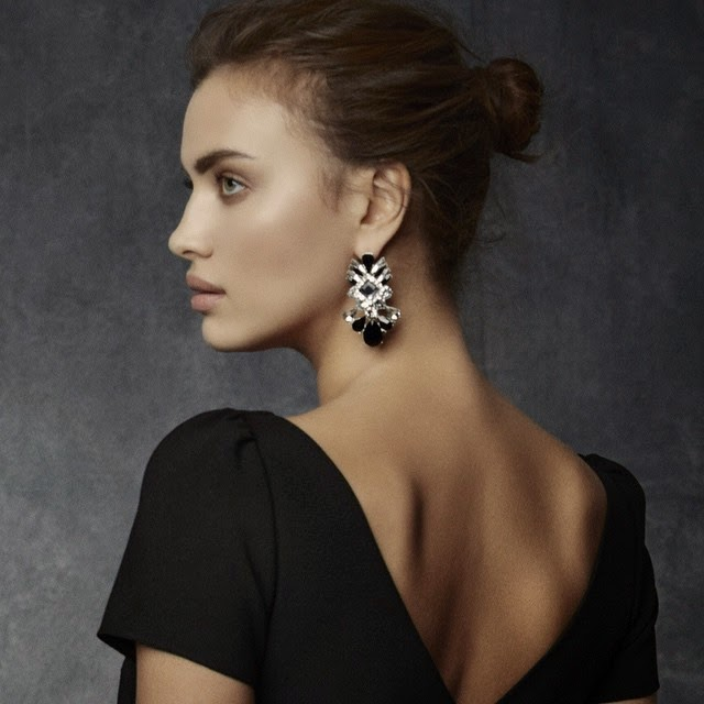 Irina Shayk poses for Suiteblanco's Holiday 2014 Campaign