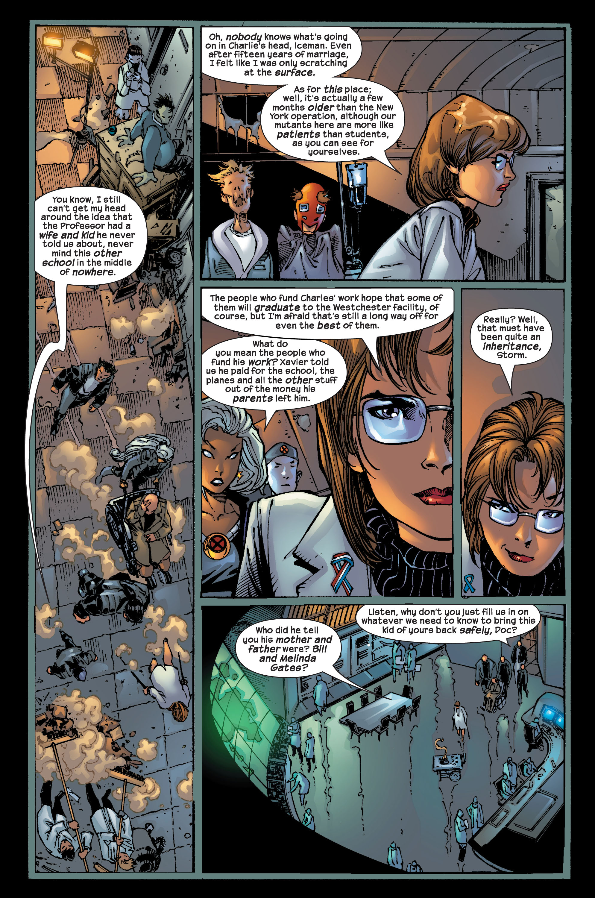 Read online Ultimate X-Men comic -  Issue #17 - 5