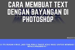 Cara Mudah Membuat Efek Bayangan Kaca Menggunakan Photoshop CS6