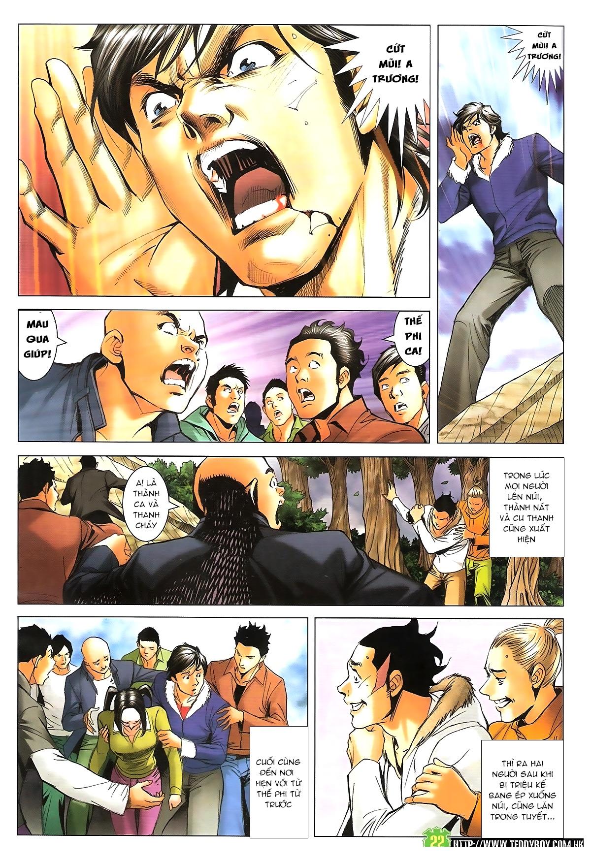 Người Trong Giang Hồ - Chapter 1616: Triệu Kế Bang vs Đinh Dao - Pic 20