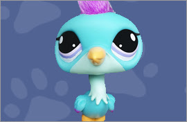 LPS Blue Heron Figures
