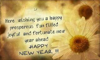 Sunflower New Year Wishes