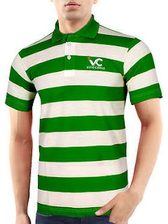 Polo Neck T-Shirt for Mens