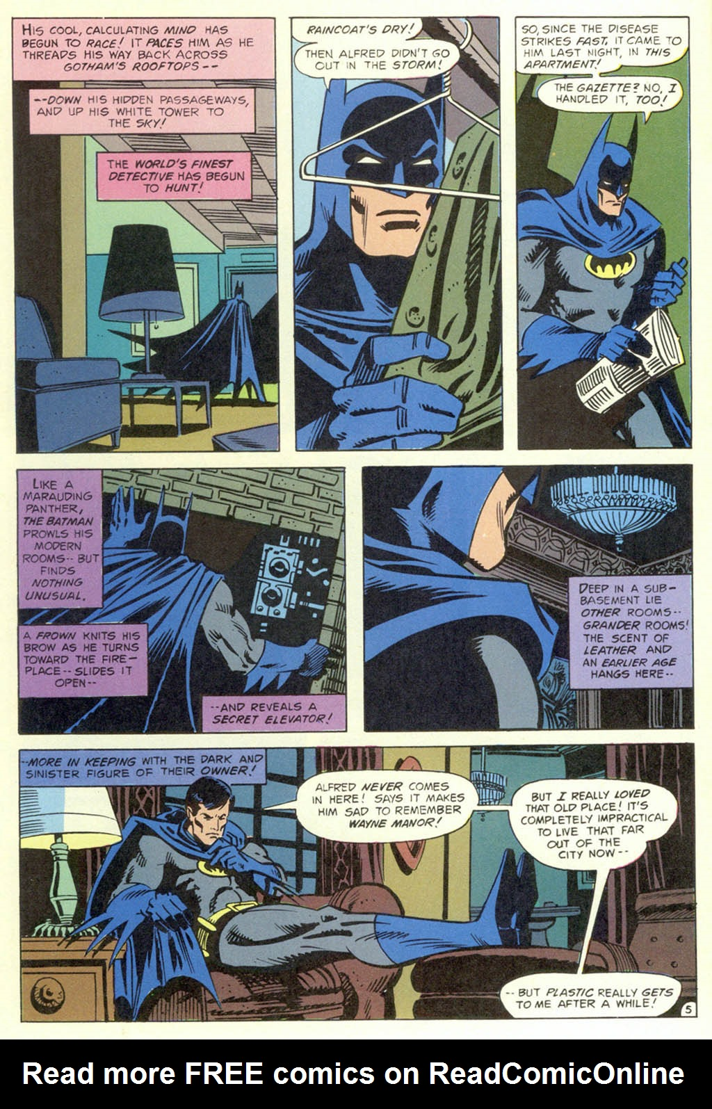 Read online Shadow of the Batman comic -  Issue #1 - 7