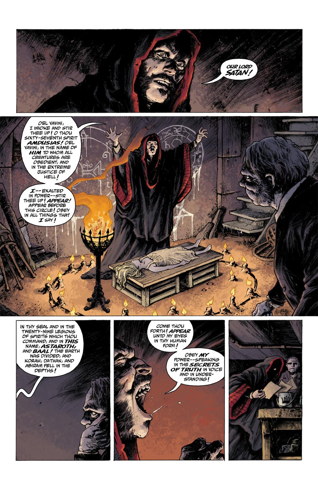 Read online Abe Sapien comic -  Issue #1 - 4