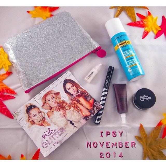 Beauty Box: Ipsy November 2014
