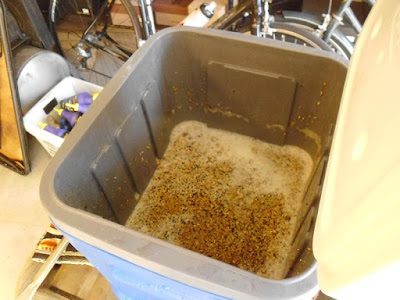 Foamy grain depleting wort