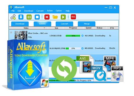 Allavsoft Video Downloader Converter 3 16 3 6833 + Keygen