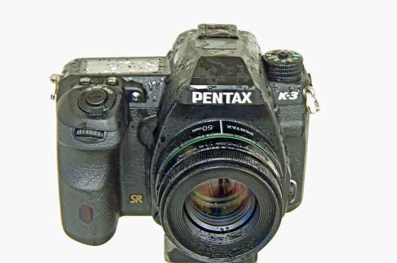 wet, Pentax K3