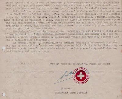 Carta de Sebastián Sanz Perelló a Ángel Ribera, 1956 (2)