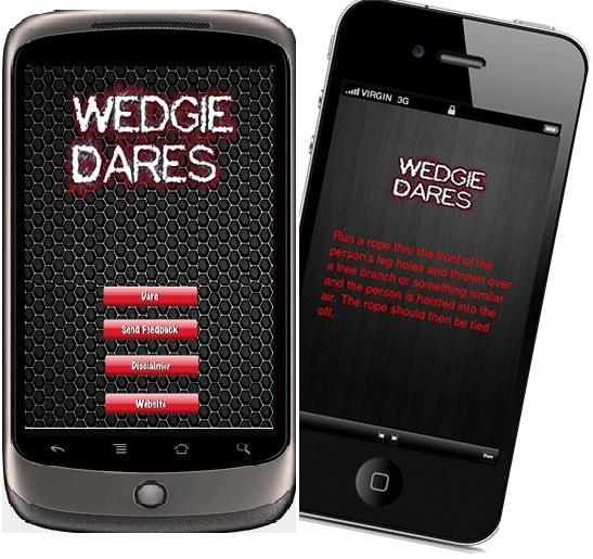 Wedgie Dares App
