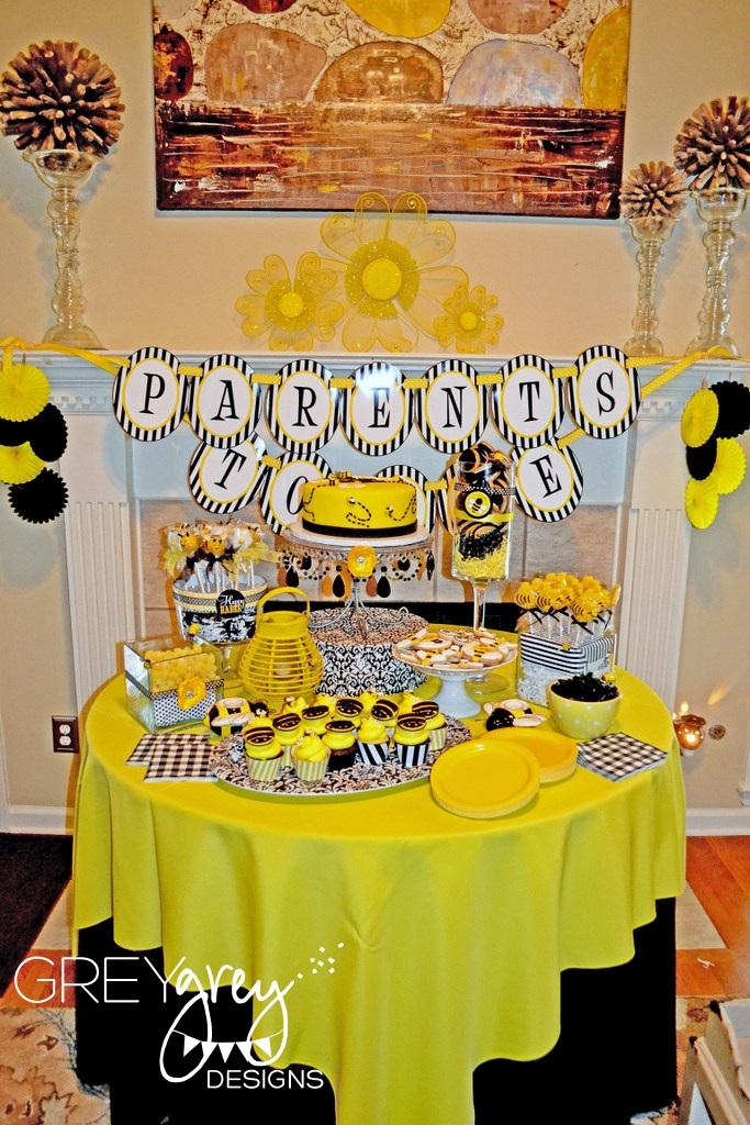 Greygrey Designs My Parties Parents To Bee Baby Shower
