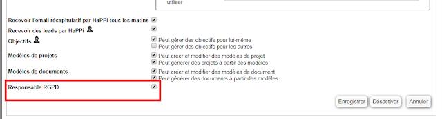 comment utiliser simple crm    comment nommer un responsable rgpd qui aura acc u00e8s au module rgpd
