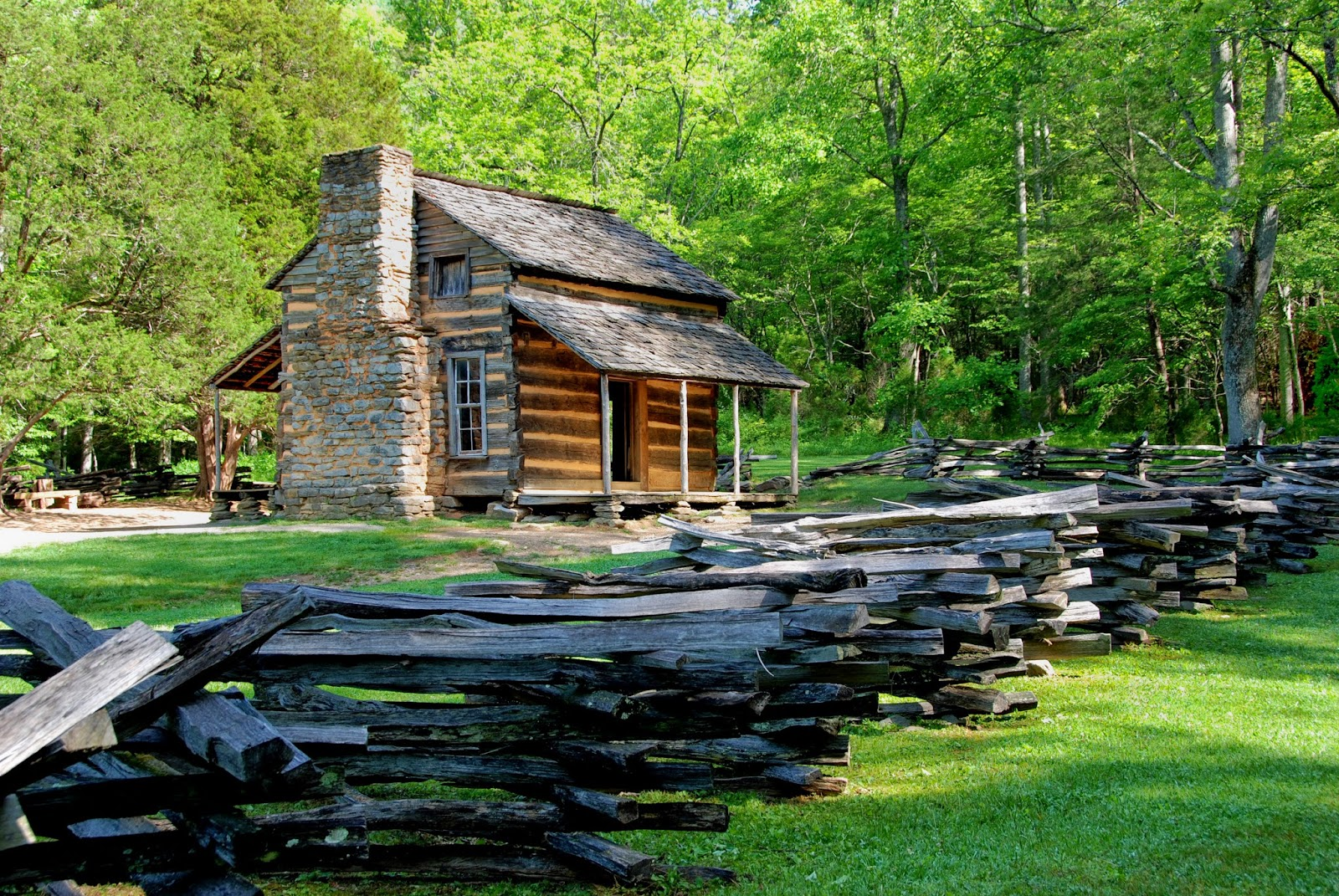 log cabin living begins place called simplicity. Black Bedroom Furniture Sets. Home Design Ideas