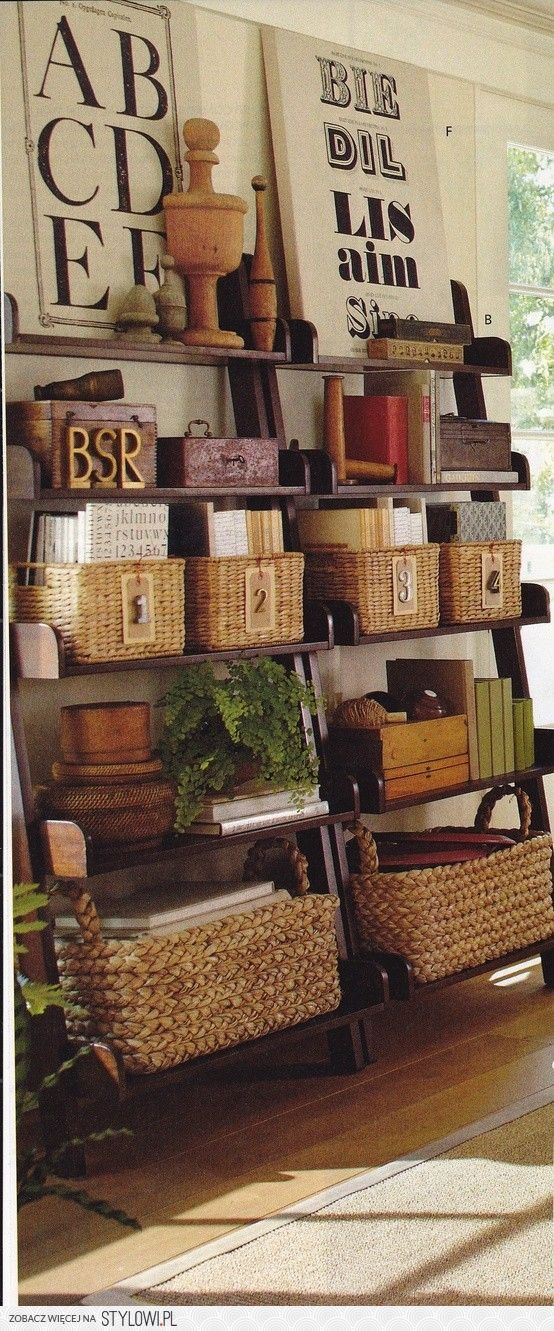 Beaux R Eves More Organizing And Refreshing With Baskets