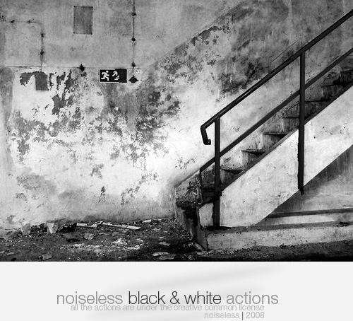 acciones blanco y negro