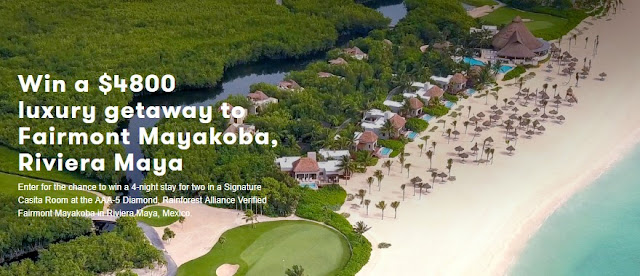Riviera Maya Mexico Vacation Sweepstakes
