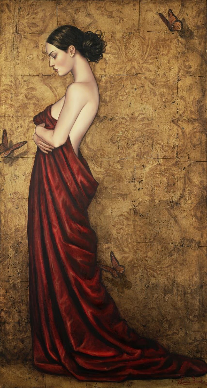 Mulher - Lauri Blank e suas pinturas cheias de emoções