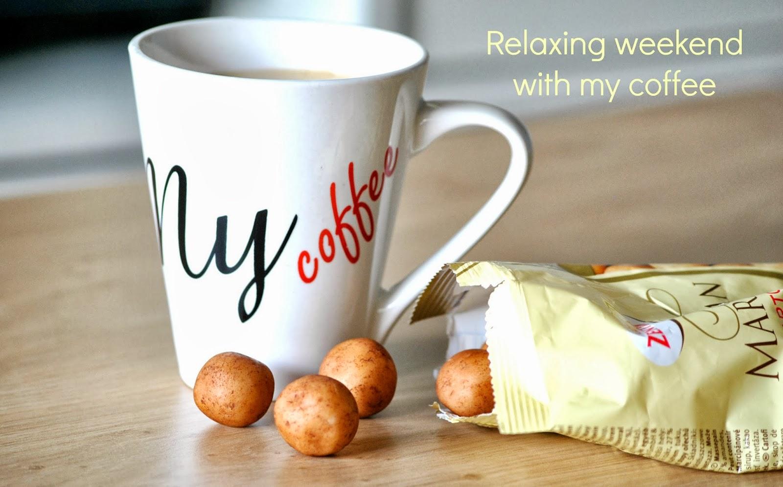 kawa w popołudnie