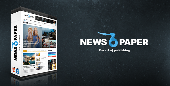 Free Download Newspaper V6.3.3 Responsive Wordpress Magazine Theme