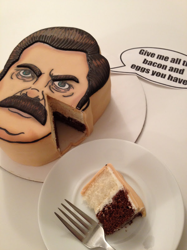 Parks And Rec Birthday Cake