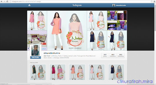 cikatietyra: Let's Follow my Instagram and find your Favourites fashion HERE!
