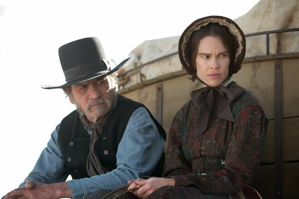 the homesman-tommy lee jones-hilary swank