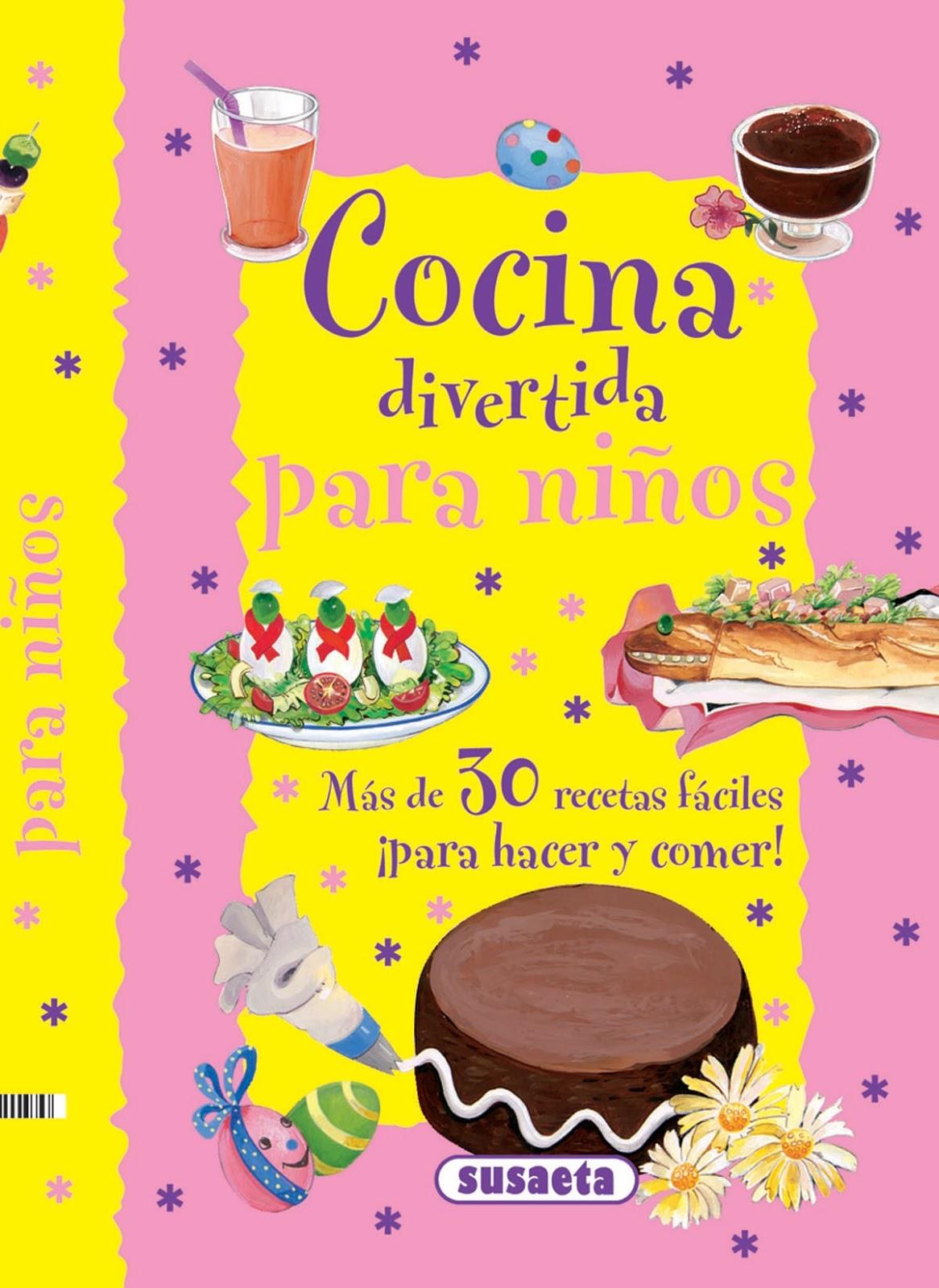 Vidas pixeladas cocina divertida para ni os de susaeta for Libro cocina para ninos
