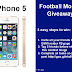Football Month #Giveaway Win Gold iPhone 5S