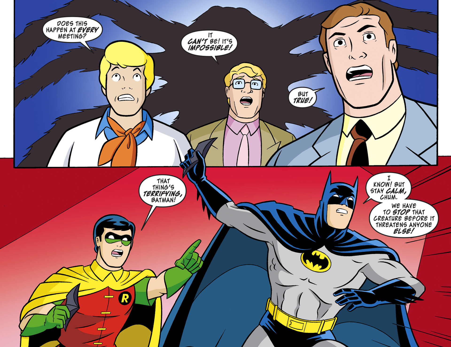 Read online Scooby-Doo! Team-Up comic -  Issue #3 - 10