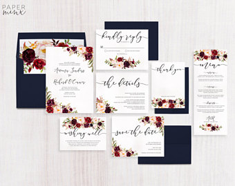 Wedding Invitation Package Deals