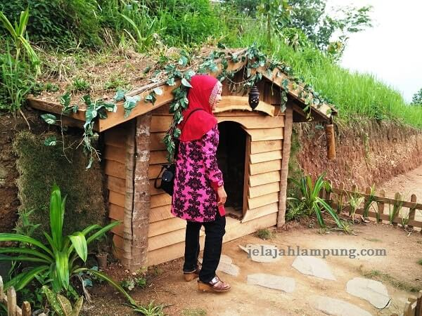 rumah hobbit bukit pangonan pringsewu