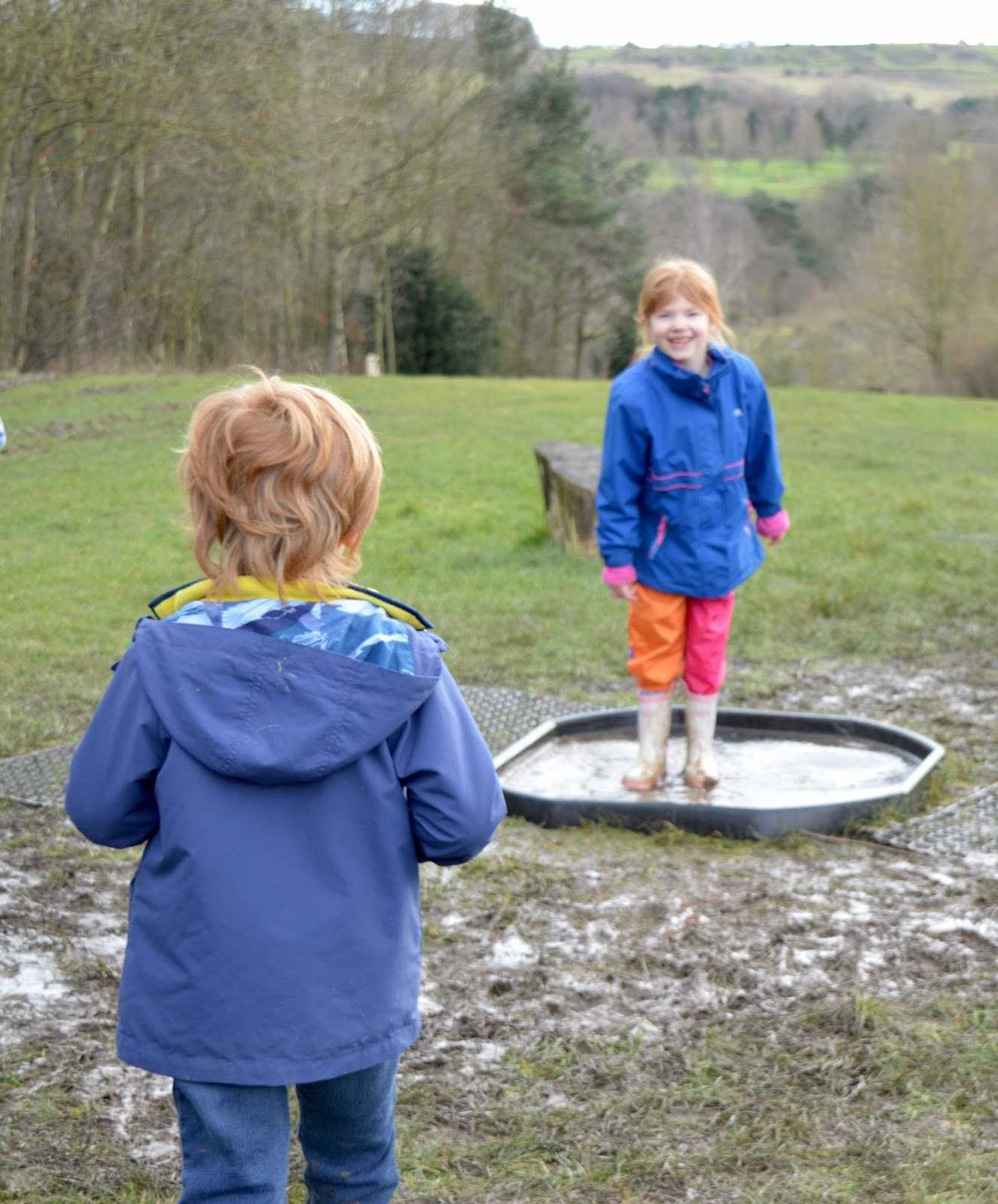 WWT Washington Wetland Centre | An Accessible North East Day Out for the Whole Family - puddle jumping
