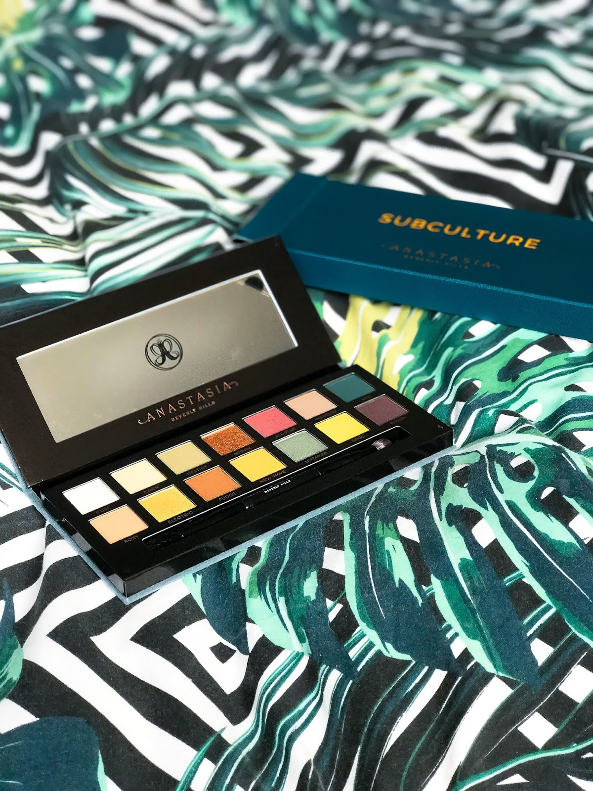 ANASTASIA BEVERLY HILLS SUBCULTURE + SWATCHES