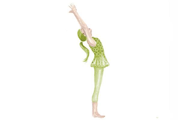 posturas de yoga despues del trabajo