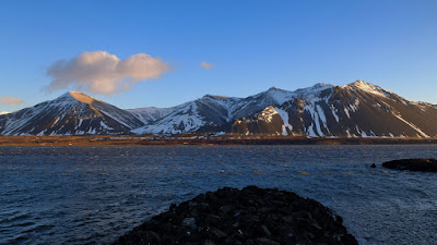 Hafnarfjall mountain near Borgarnes